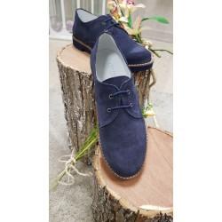 Zapatos de comunion, vestir, ceremonia, para niño, ultraligeros para una gran comodidad ese dia, en antes azul marino