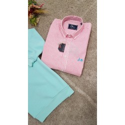 Camisa de rayas de la firma Scotta