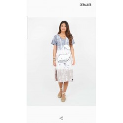 Vestido degradado Tie-Dye de la firma Anabel Lee