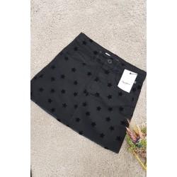Falda negra de estrellas, de Pepe jeans niña