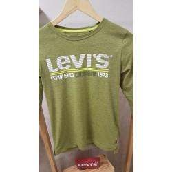 Camiseta Levis verde para niño