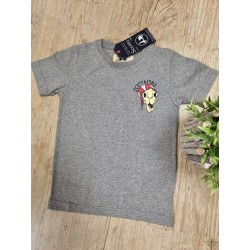 Camiseta gris con dibujo de Camello de Scotta