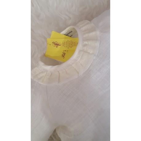Blusa beige de bebe Pili Carrera