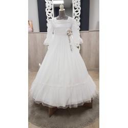 Vestido de Comunión de la firma Amaya