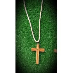 Cruz de Comunion con cordon dorado