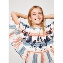 Blusa-poncho de Pepe Jeans niña